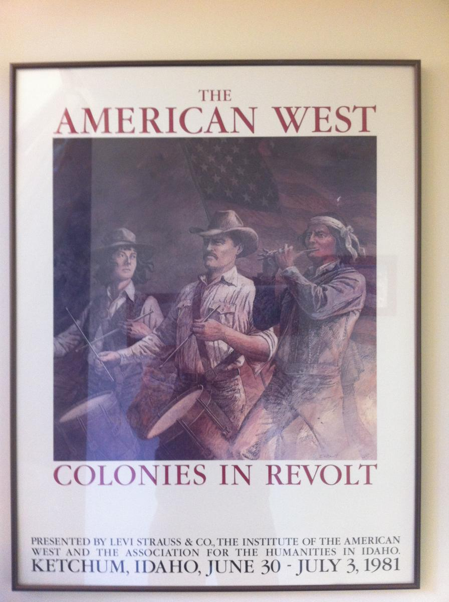 """Colonies in Revolt"" poster image"