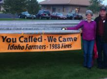 Ramona Marotz-Baden and Don Marotz (Asthon, Idaho).